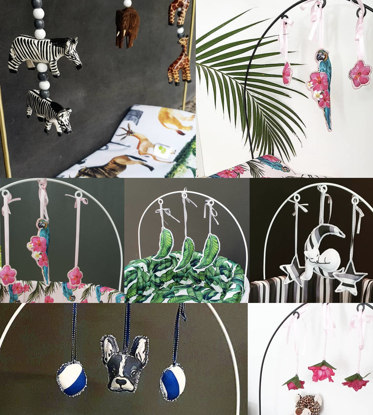 mobile arches and dangle accessories