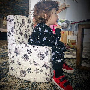 Toddler Chair | Moon & Stars