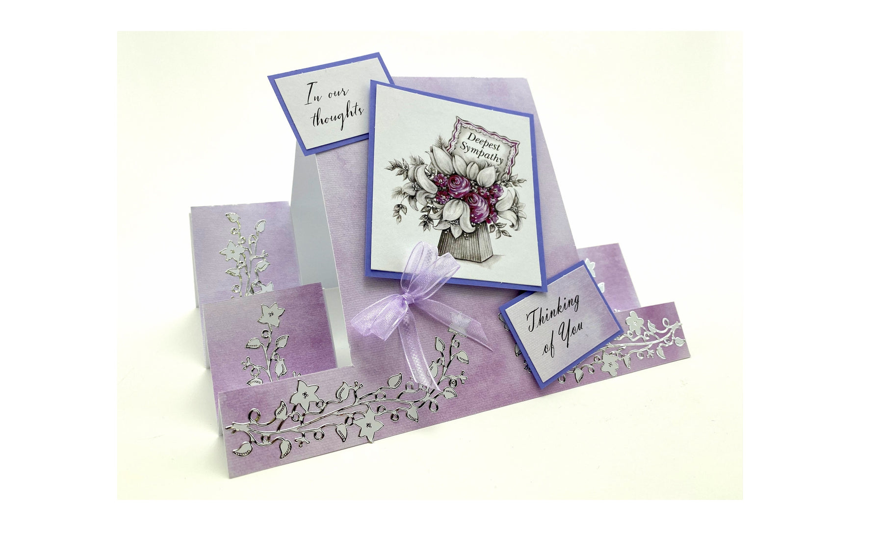 How To Make a Sympathy Stepper Card