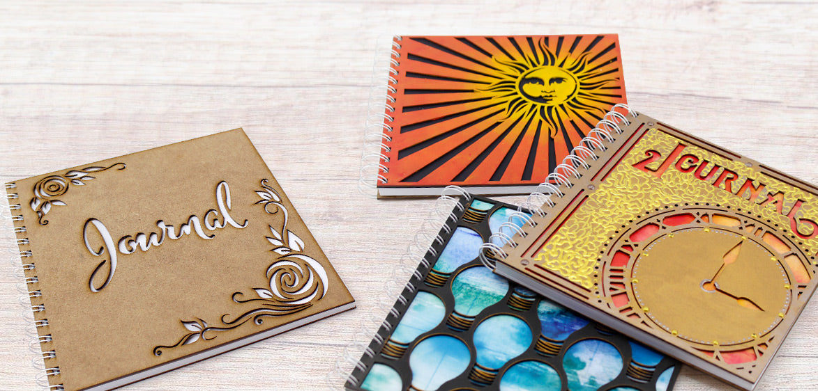 MDF Journals at Craft Creations