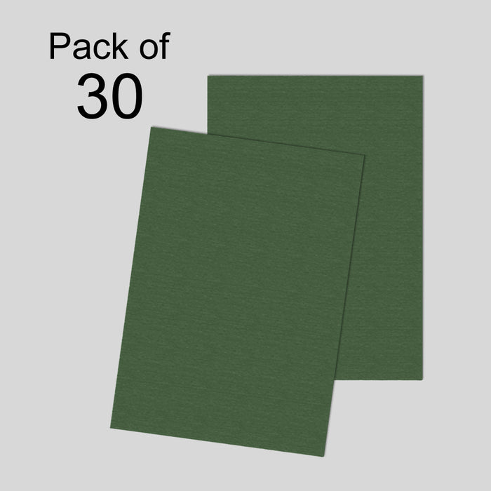 Hammer Embossed  Green 250gsm A4 Pack of 30
