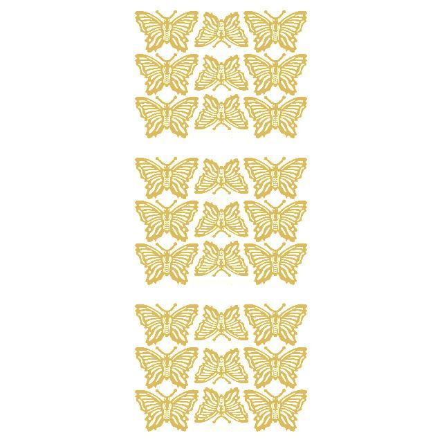 Butterflies (M) Gold