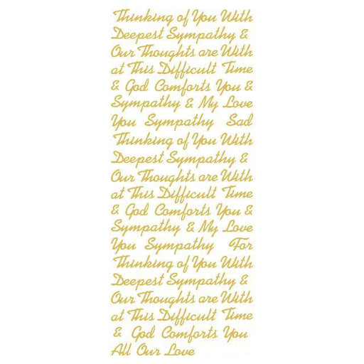 Mix Sympathy Words (S) Gold