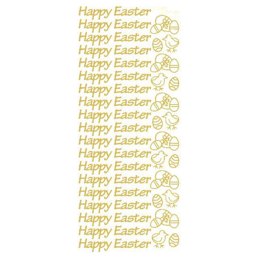 Happy Easter Gold