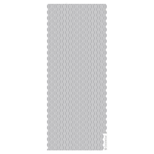 Deckled Border  Silver