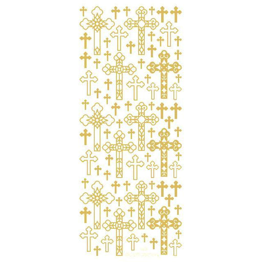 Decorative Crosses  Gold