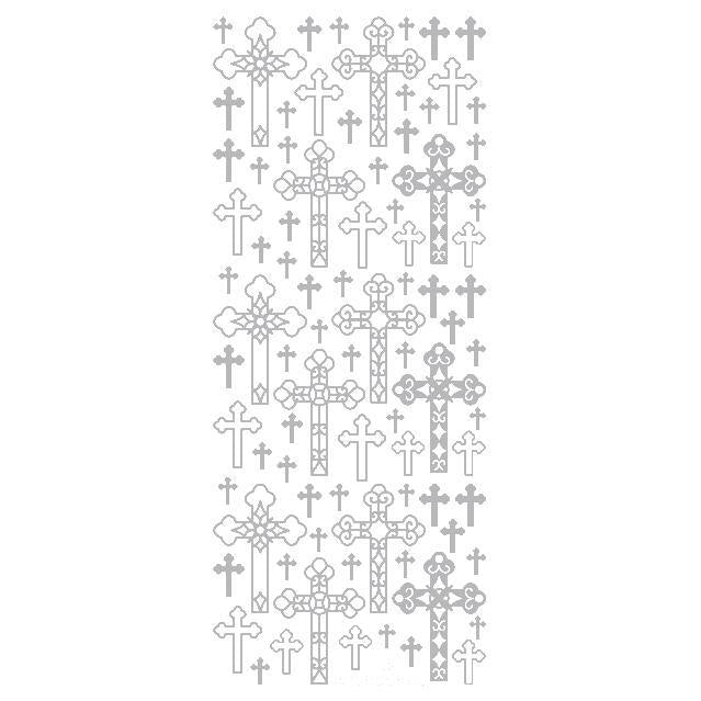 Decorative Crosses  Silver