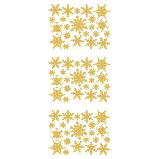Filled Snowflakes  Gold