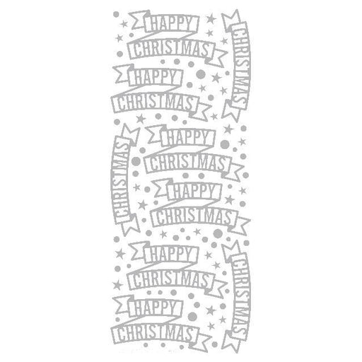 Christmas Banners  Silver