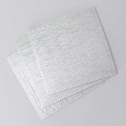 3x3mm Double Sided Adhesive Pads - Black 2mm Pack of 3