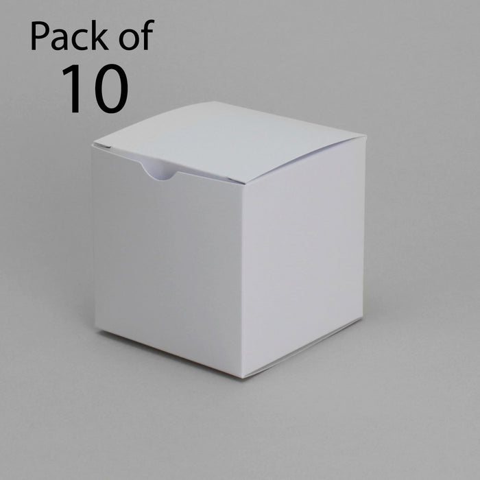 9 x 13 Classic White Card Boxes (Pack of 10)