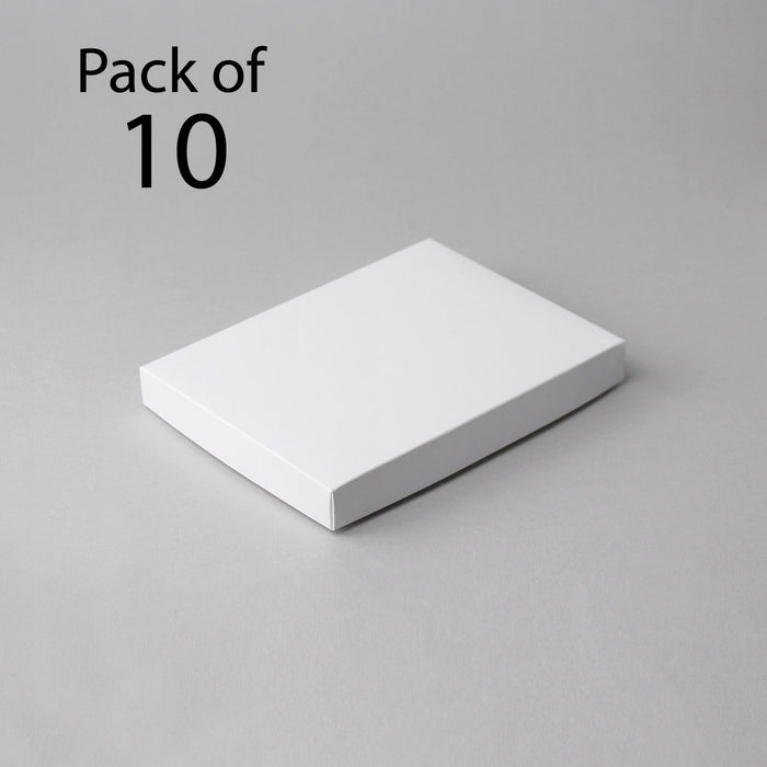 5 x 7 Classic White Card Boxes (Pack of 10)