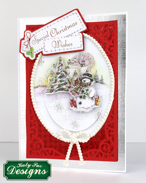 C - An idea using the Snow Globe Christmas Scenes product