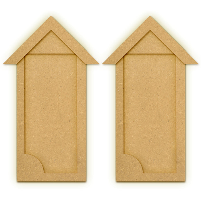 MDF Beach Hut Shed Frame (Set of 2)