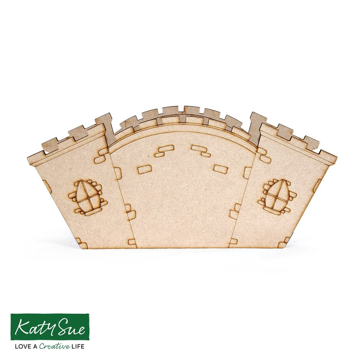 MDF Castle Desk Caddy Kit