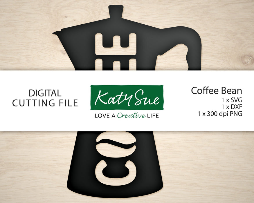 Coffee Bean | Digital Cutting File