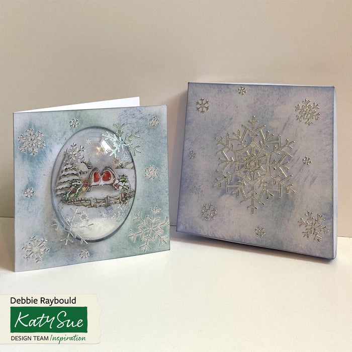 Snow Globe 6 x 6 Card Kit