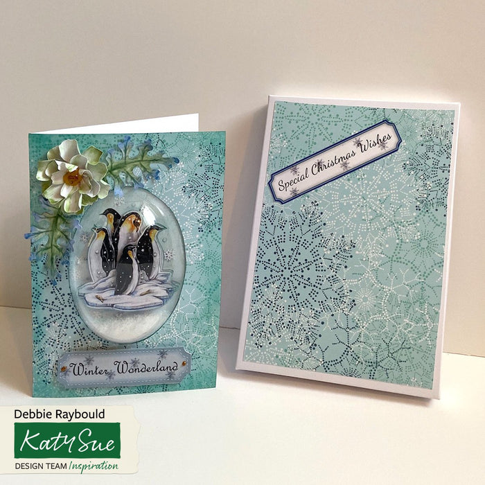 Snow Globe 5 x 7 Card Kit