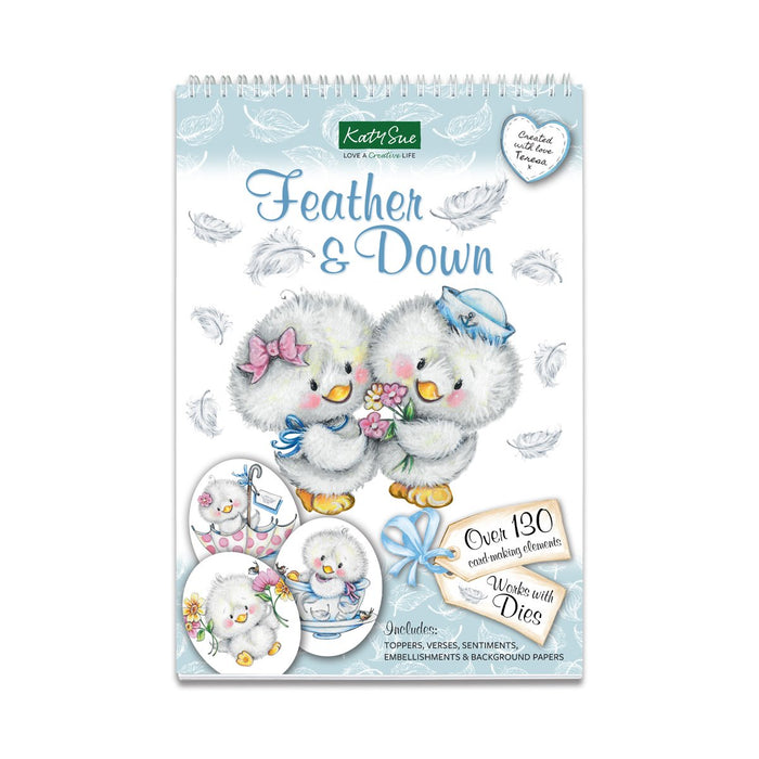Feather & Down | Paper Craft Bundle with Display Globes