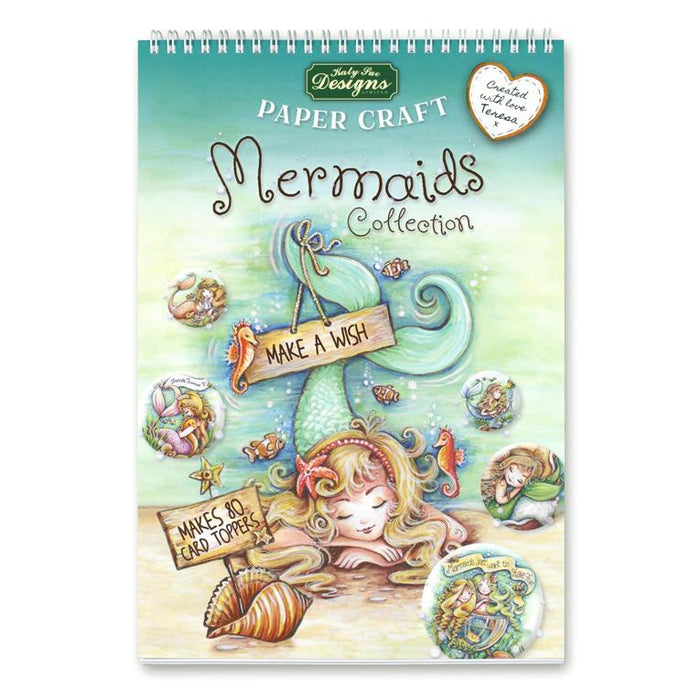 Mermaids Collection | Paper Craft Pad (Not Die Cut)