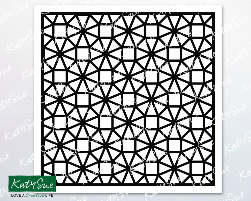 Octagons Stencil | Digital Cutting File