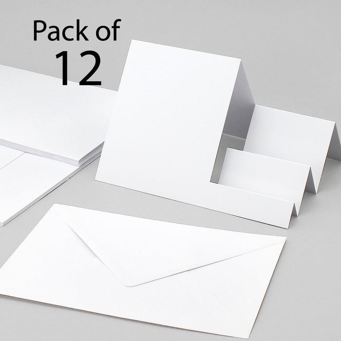 Stepper Cards & Envelopes - Mixed Styles - Pack of 12