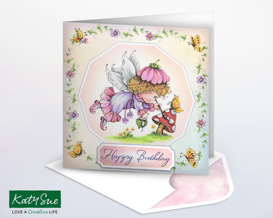 The Fairy Collection Nature Painter | Digital Card Making Kit