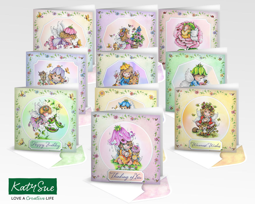 The Fairy Collection Complete | Digital Card Making Kit