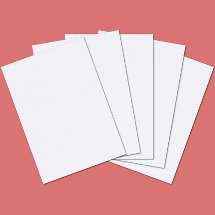 Classic White Card - 270gsm A4  Pack of 50