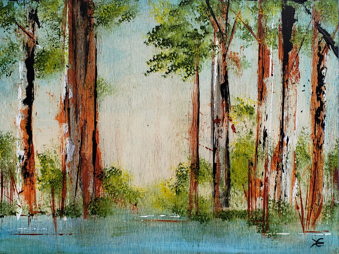 Down by the Bayou 9 x 12 inches