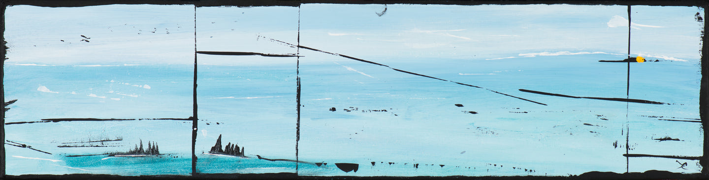 Terra Nullius: the empty arctic lands 6 x 24 inches
