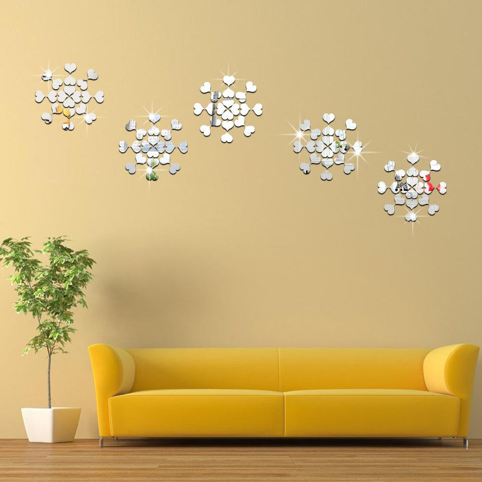 D.I.Y Reflective Art Wall Stickers – Urbandoks