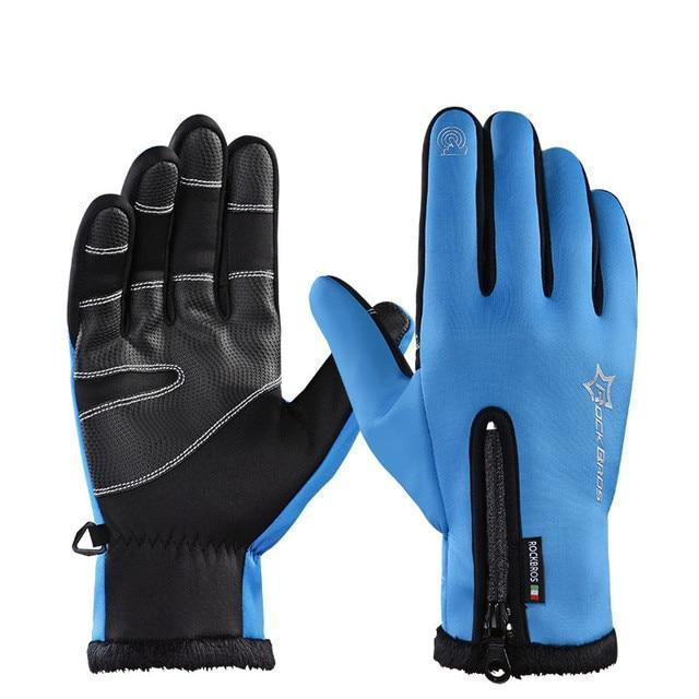 Urbandoks Blue / L Thermo Gloves - Sports Edition