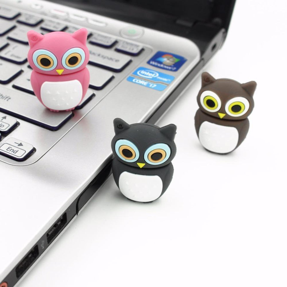 Urbandoks Flash Drive Baby Owl Flash Drive
