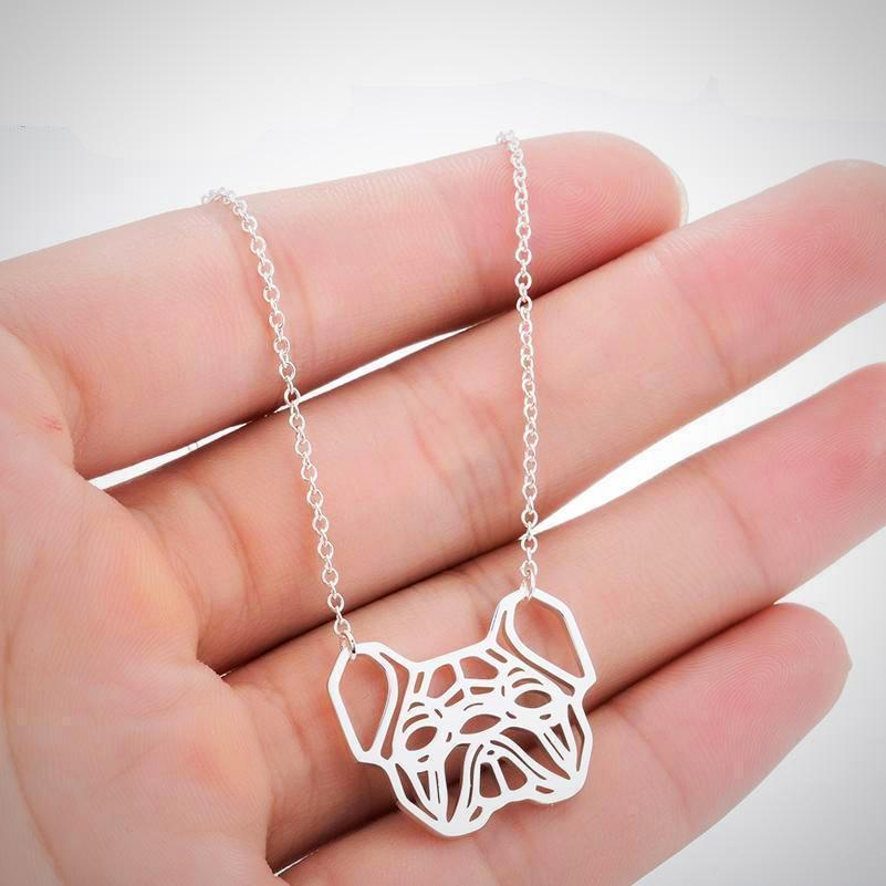 Urbandoks Necklace Frenchie-love Necklace