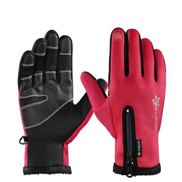 Urbandoks Red / L Thermo Gloves - Sports Edition