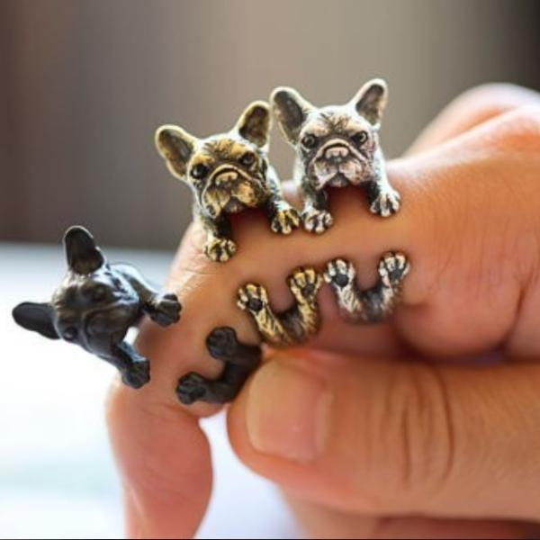 Urbandoks Ring Frenchie-love Ring