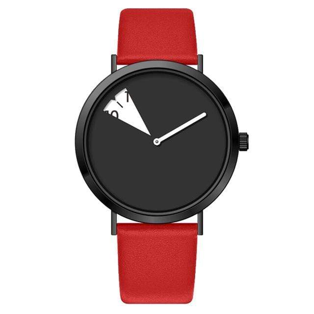 Urbandoks Watch Fiery Red Fashenova Wristwatch