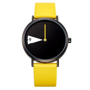 Urbandoks Watch Funky Yellow Fashenova Wristwatch