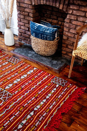 Fatima & Adjou's Flaming Kilim - Salam Hello