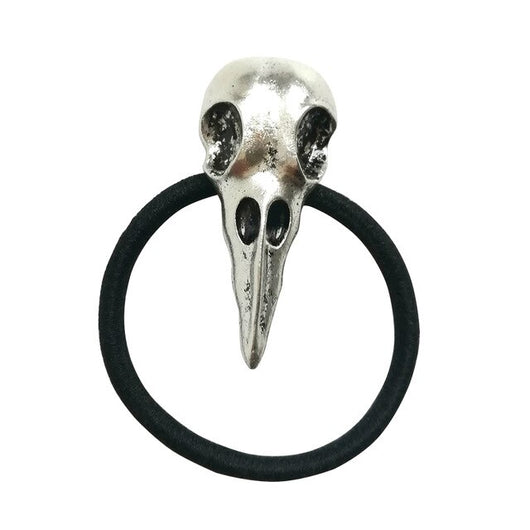 Fashion Hair Tie Raven Skull Elastic Women Hair Bands Metal Headbands For Halloween Girl Women Charms