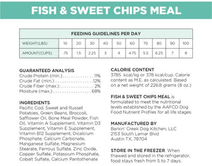 Fish & Sweet Chips Meal
