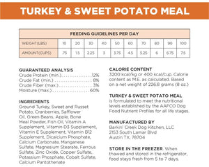 Turkey & Sweet Potato Meal
