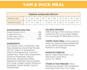 Yam & Duck Meal