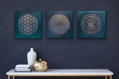 Yantra Resin Art - ikigaicreations.ca