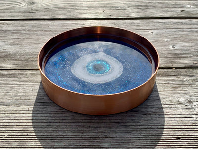 Protective Eye Resin Art Jewellery Tray - ikigaicreations.ca