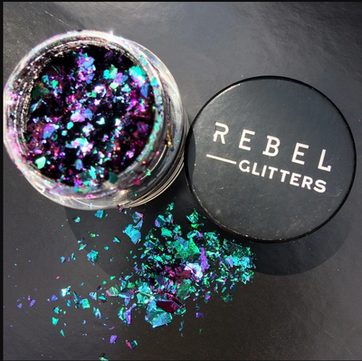 Opal Effect Glitter Flakes - ikigaicreations.ca