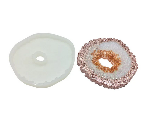 Agate Slice Silicone Mould - ikigaicreations.ca