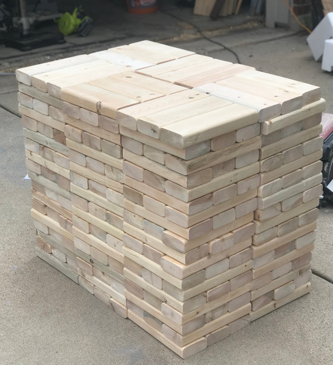Backyard Jenga