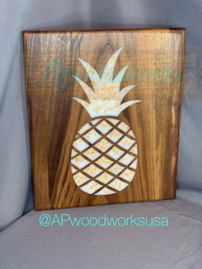 Custom Piece Pineapple Cutting Board
